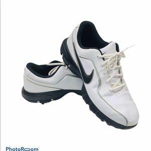 Nike Air Durasport Golf Shoes 418561-101 Leather